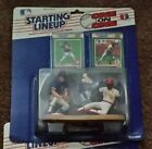1989 One on One Starting Lineup Ryne Sandberg, Vince Coleman  MINT!!