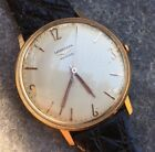 Rare Longines 18k Rose Gold Fab Suisse Watch, Modernist Font and Hands