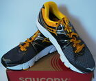 Saucony Progrid Echelon 3 Athletic Running Shoe Gray Black Yellow Mens New 9