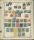1862 1957 Nicaragua Postage Stamp Collection on Album Pages Catalog Value 3471