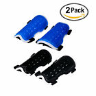 Youth Child Soccer Shin Pad 2 Pair Perforated Breathable Soccer Shin