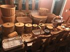 HUGE LOT Longaberger Baskets and accessories some with signatures