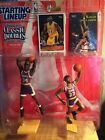 Starting Lineup Classic Doubles 1997 Edition Lakers Shaq and Abdul-Jabbar