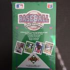 Factory Seal 1990 Upper Deck Baseball Low Number Box (36 packs 15 cards 1 holo)