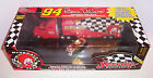 Bill Elliott  McDonaldsTractor trailer Truck & Gold Car 12