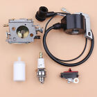 Ignition Coil Carburetor Kill Switch For HUSQVARNA 268 272 XP 266 61 66 Chainsaw
