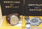 BREITLING BENTLEY AUTOMATIC CHRONOGRAPH 48MM WATCH 2BANDS A25362