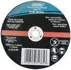 Genuine DRAPER 100 x 10 x 1.6mm Flat Metal Cutting Wheel | 31385