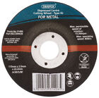 Genuine DRAPER 115 x 22.2 x 2.5mm Depressed Centre Metal Cutting Wheel | 31406