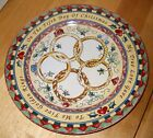 222 Fifth TWELVE DAYS OF CHRISTMAS Salad Plate five golden rings   100