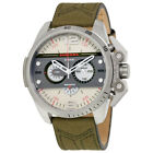 Diesel DZ4389 Ironside Men's Chronograph Olive Green Leather Strap