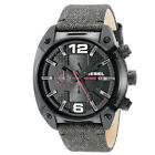 Diesel DZ4373 Overflow Men's Chronograph Grey Denim Strap
