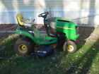 JOHN DEERE L110 LAWN TRACTOR 42 CUT WITH EXTRA DECK
