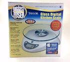 Taylor glass digital scales Biggest Loser Digital Kitchen Scale 66 lb capacity