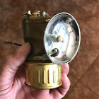 Vintage JUSTRIGHT Areamlined CARBIDE LAMP NO RESERVE