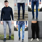Mens Super Skinny Stretch Designer Enzo Denim Fashion Vintage New Premium Jeans