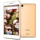 With a metal body Orbic Slim + X Factory Unlocked Phone Gold provides 16GB