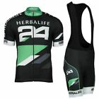 HERBALIFE Cycling Jersey Shirt Retro Bike Ropa Ciclismo MTB Maillot