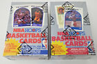 1989 90 HOOPS BASKETBALL SERIES 1 AND SERIES 2 BOX LOT BBCE SEALED FASC #2