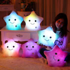 Brand New Gift Romantic LED Light Up Glow Pillow Soft Cosy Relax Cushion Star US