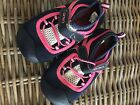 carters size 10 water shoes navy and pink  great condition