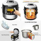 Electric Multi Cooker LED Touch Control Steamer Warmer Cooking Rice Cake Baking