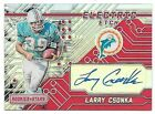 2016 Panini Rookies & Stars Electric Etch Red #LC Larry Csonka Autograph #15 15