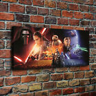 """Tar Wars The Force Awakens Canvas Print 24""""x56"""" Home Decor Room Wall Art Picture"""
