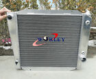3 ROWS ALUMINUM RADIATOR for 66 77 67 68 FORD BRONCO WAGON ROADSTER 50L 302 V8