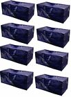Heavy Duty Extra Large Storage Bag Moving Tote Backpack Boxes 8Pack