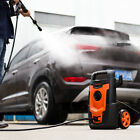 Electric Pressure Washer with Accessories Spray Nozzle Gun Turbo Wand Detergent