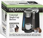Single Cup Coffee Maker for K Cups By Ekobrew (Reusable Single Serve Coffee Pod