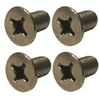 Kawasaki VN800 - Brake Master Cylinder Cover Screws - A2 Stainless (Pack of 4)