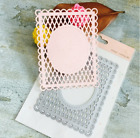 Lace Net Frame Decor Metal Cutting Dies Scrapbooking Stamps Embossing paper Card