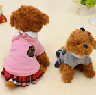 Dog Clothes School Style Pet Cute Chihuahua Coat Costume Outfit For Small Puppy