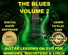 The Blues Volume 2 Guitar TAB Lesson CD 2184 TABS 518 Backing Tracks + BONUS