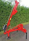 NEW 3PL TRACTOR MOUNTED POST KNOCKER Parmiter  protech  digger  jcb  mini d