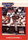 1988 Kenner Starting Lineup Cards #2 Harold Baines - NM-MT