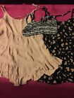 Brandy Melville Pink polka dot Jada Dress and sunflower jada NWOT