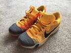 Nike Zoom Kobe 10 X Low Chester Bright Orange Size 11 Used Great Condition Air