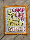 NEW Girl Scouts Camp Like A Girl GS Fun Patch Collectible