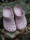 Womens Kids Girls CROCS Classic CLOGS Shoes Cotton Candy PINK M1 W3