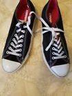 Converse Mens Chuck Taylor All Star Low Casual Shoe Black White Size 10 Men