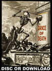 ☆ DANCE OF DEATH MACABRE BOOKS ☆ Bizarre Antiquarian Volumes & Prints Scanned
