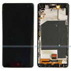 ZTE Nubia Z7 MAX NX505J LCD Display Touch Screen Digitizer Assembly +Frame Black