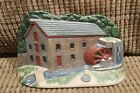 Antique Cast Iron Cottage / Old Mill House Hand Painted