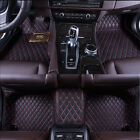 Vehicle Car Floor Mat Leather Liner Decor Carpet Fits Ford Mustang 2007-2017 Wcv
