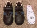 NEW PEDIPED BOYS FLEX CHANNING CHOCOLATE BROWN SHOES Youth size 1 EU 32