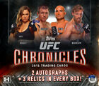 FACTORY SEALED 2015 TOPPS UFC CHRONICLES HOBBY BOX McGregor Rousey Silva AUTOS