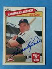 Harmon Killebrew 1989 70 Baseball Greats Autographed Swell 3B HOF card